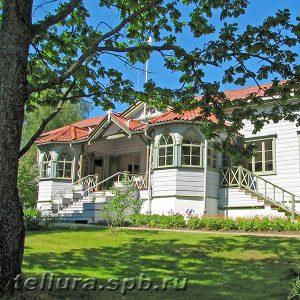 красивый финский дом и сад фото