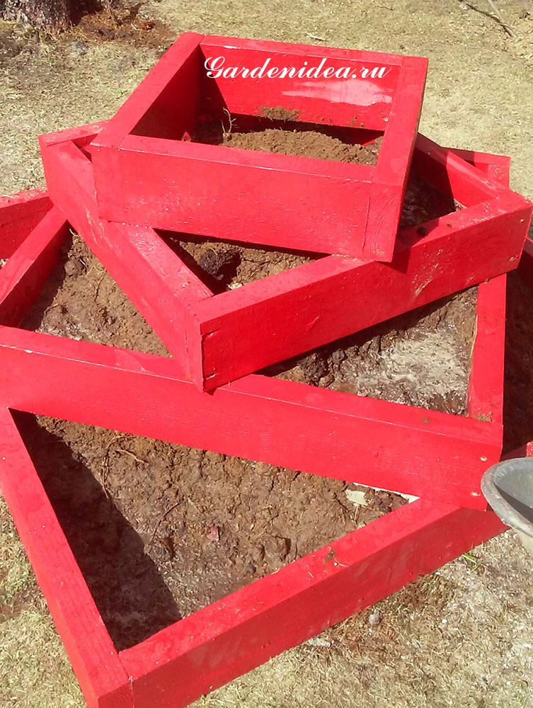 грунт для земляничной пирамидки и других высоких грядок фото